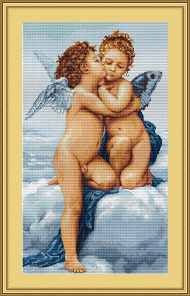 Luca-S First Kiss - Petit Point Tapestry Kit