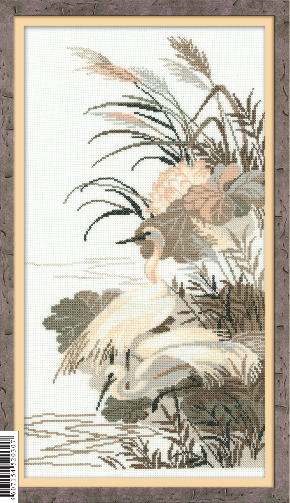 RIOLIS Herons Cross Stitch Kit