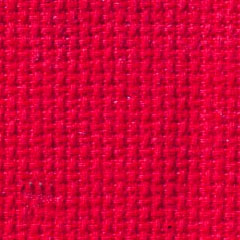 16 Count Aida Metre - Red