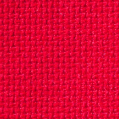 Permin 18 Count Aida Metre - Red Fabric