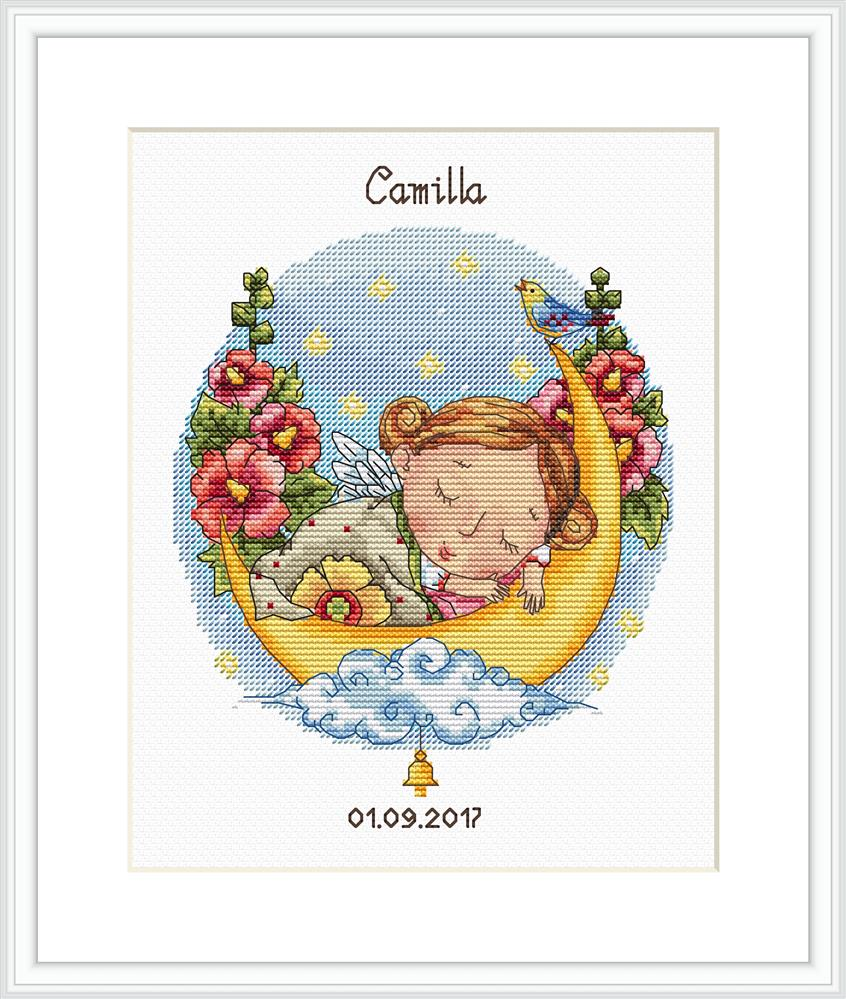 Lullaby for Daughter -  Cross Stitch Kit
