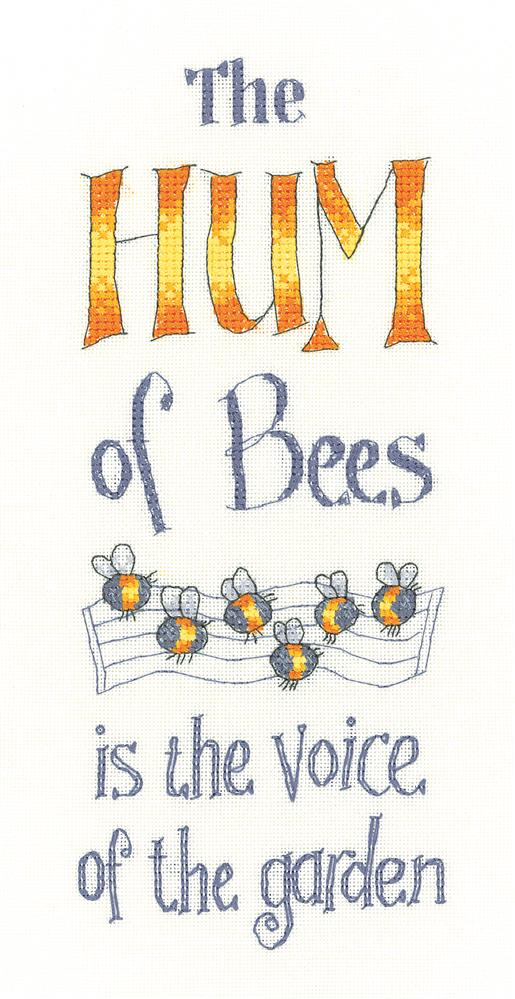 Heritage The Hum of Bees - Aida Cross Stitch Kit