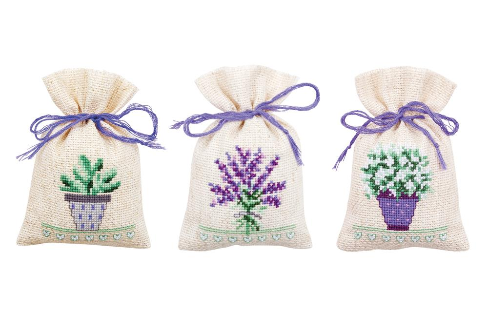 Provence Bags -  Cross Stitch Kit