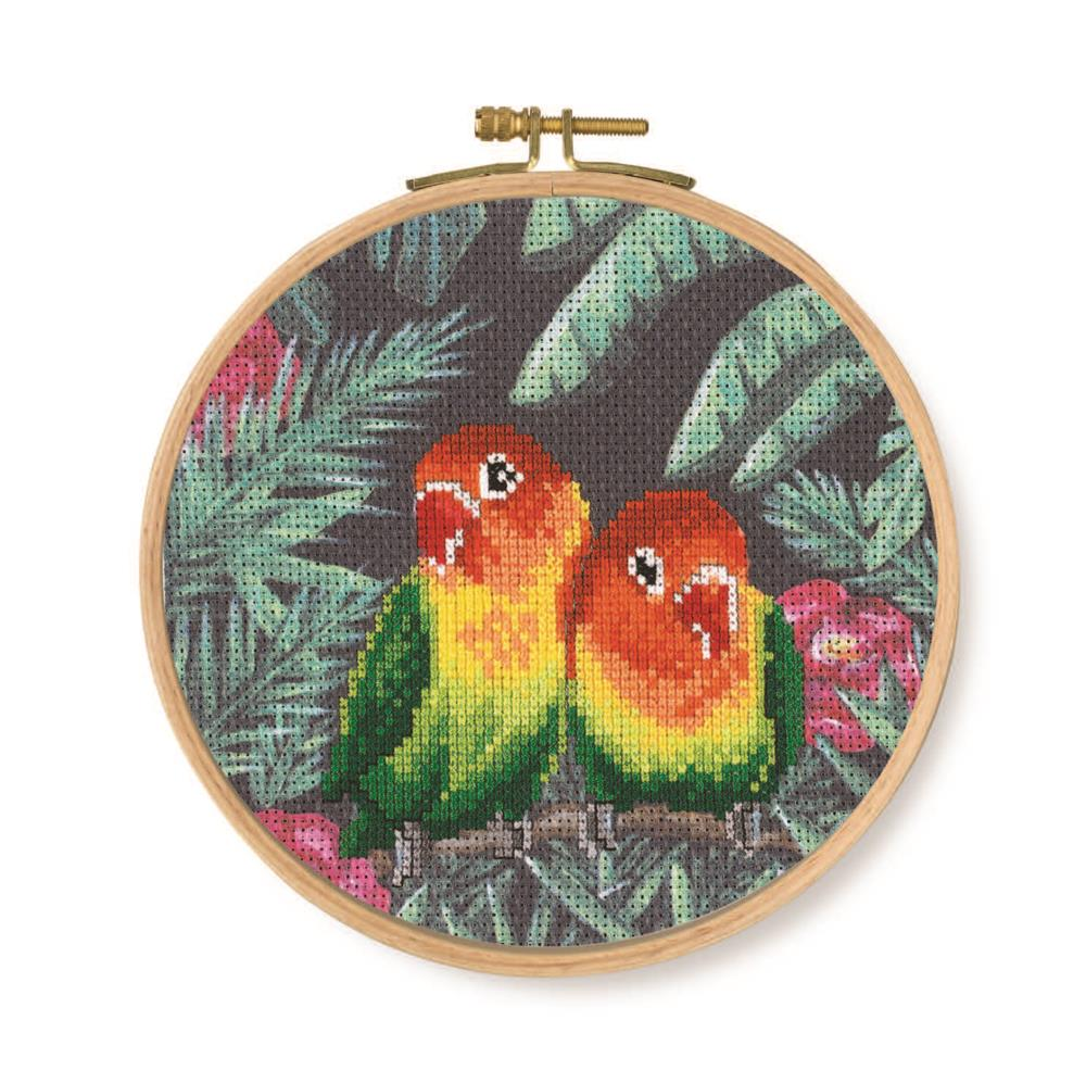 Love Birds -  Cross Stitch Kit