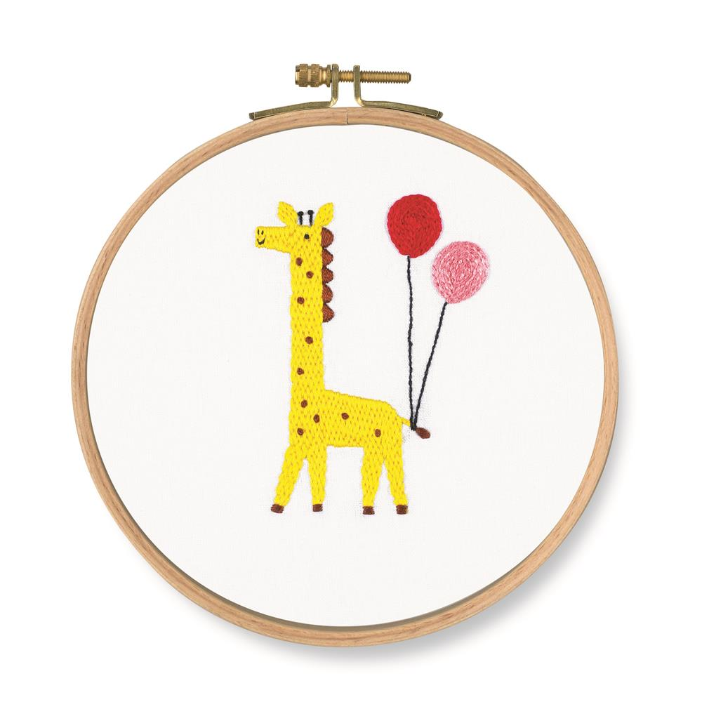 DMC Which One? Giraffe Embroidery Kit