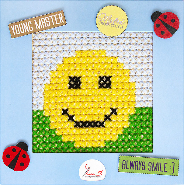 Luca-S Smile Cross Stitch Kit