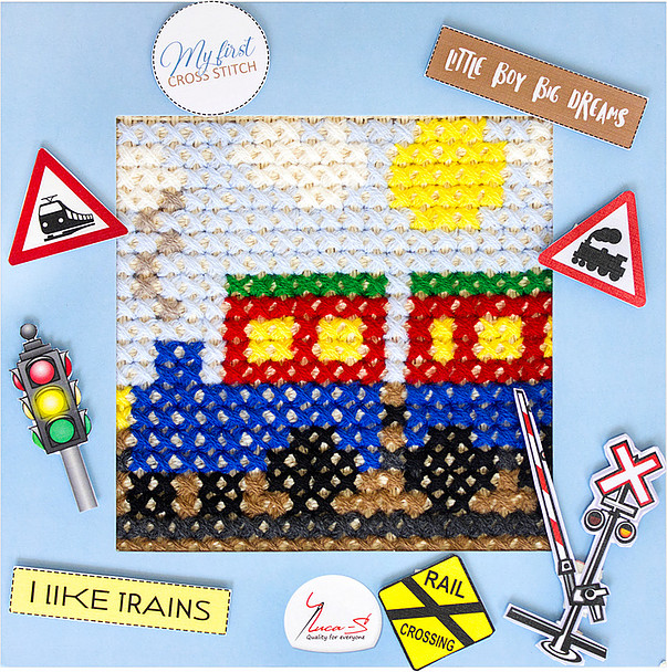 Luca-S The Train Cross Stitch Kit