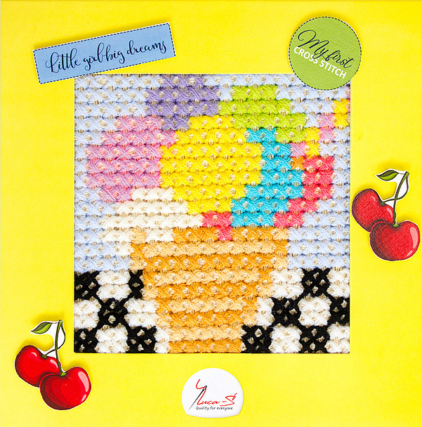 Luca-S Ice Cream Cross Stitch Kit