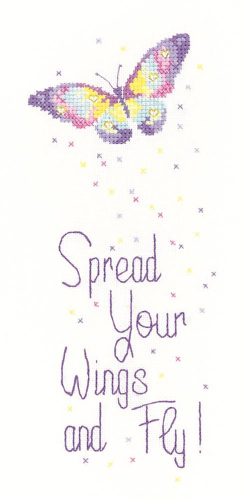 Heritage Spread Your Wings - Aida Cross Stitch Kit
