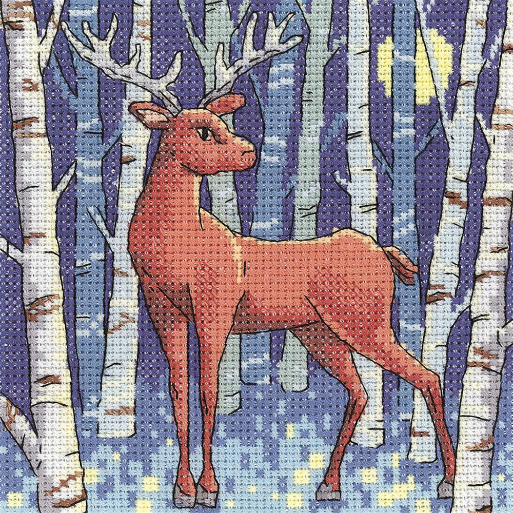 Stag - Aida -  Cross Stitch Kit