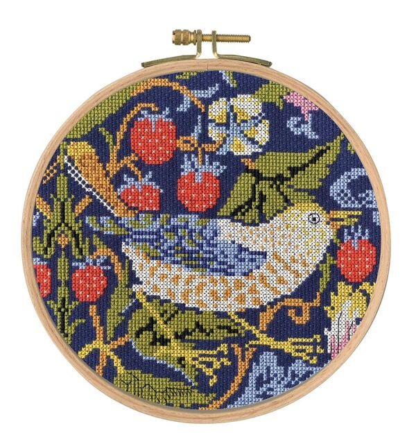 The Strawberry Thief -  Cross Stitch Kit