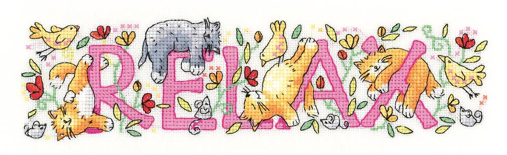 Heritage Relax - Evenweave Cross Stitch Kit
