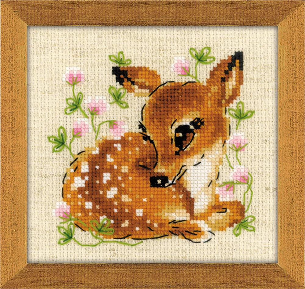 RIOLIS Little Deer Cross Stitch Kit