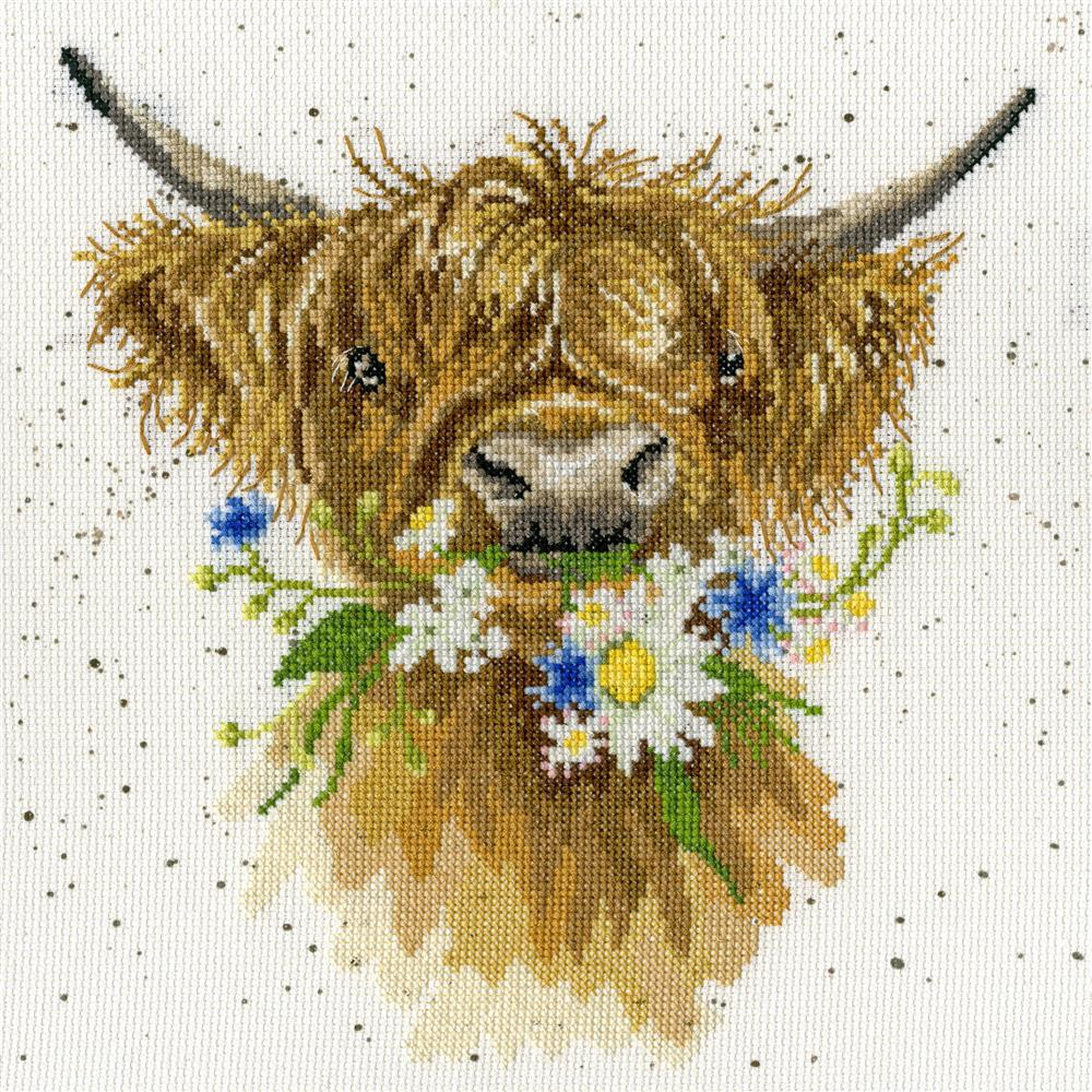 Bothy Threads Daisy Coo Cross Stitch Kit