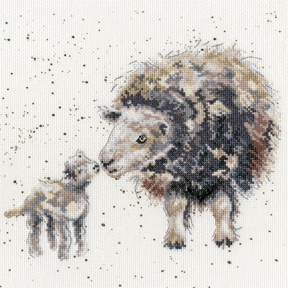 Ewe and Me -  Cross Stitch Kit