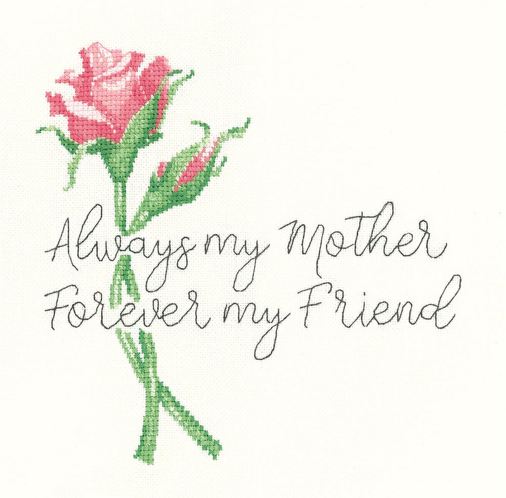 Heritage Always My Mother - Aida Cross Stitch Kit