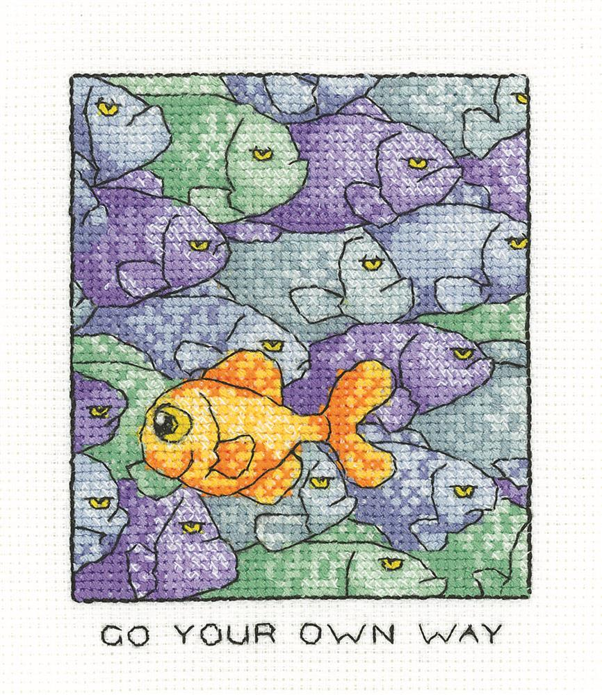 Heritage Your Own Way Cross Stitch Kit