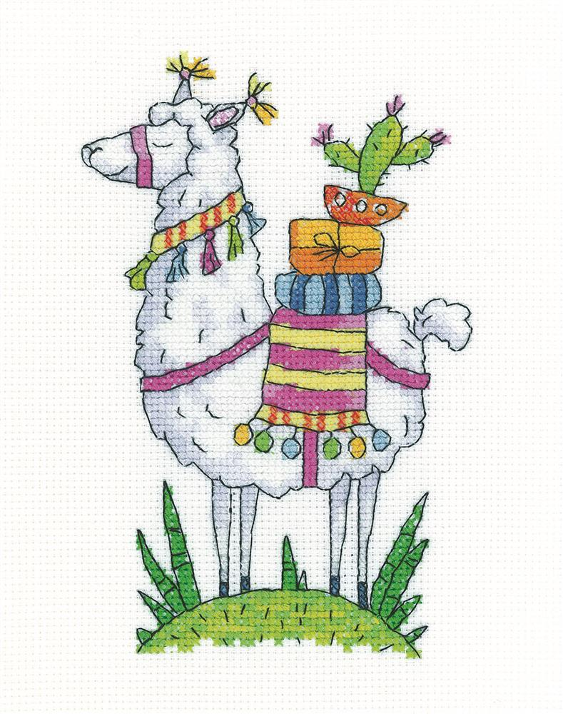 Heritage Llama Cross Stitch Kit