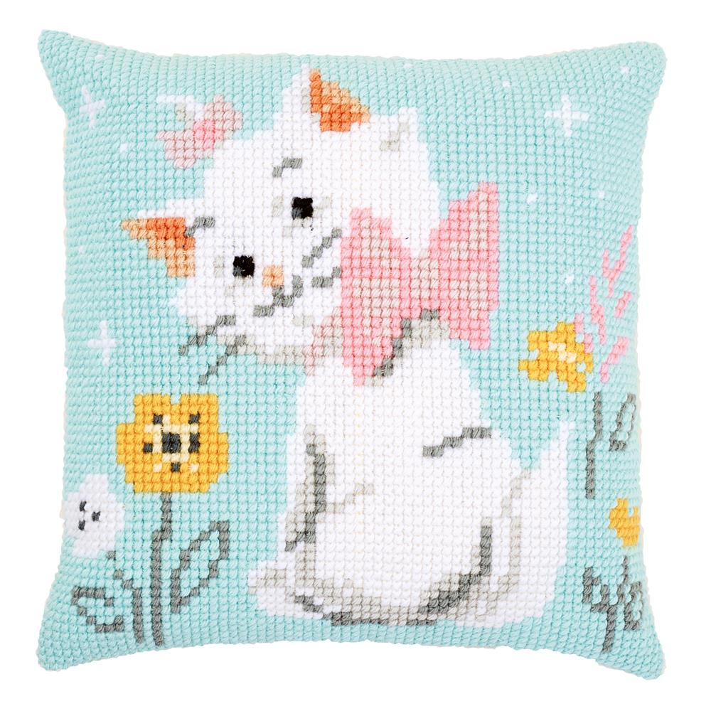 Vervaco Aristocats Marie Cushion Cross Stitch Kit