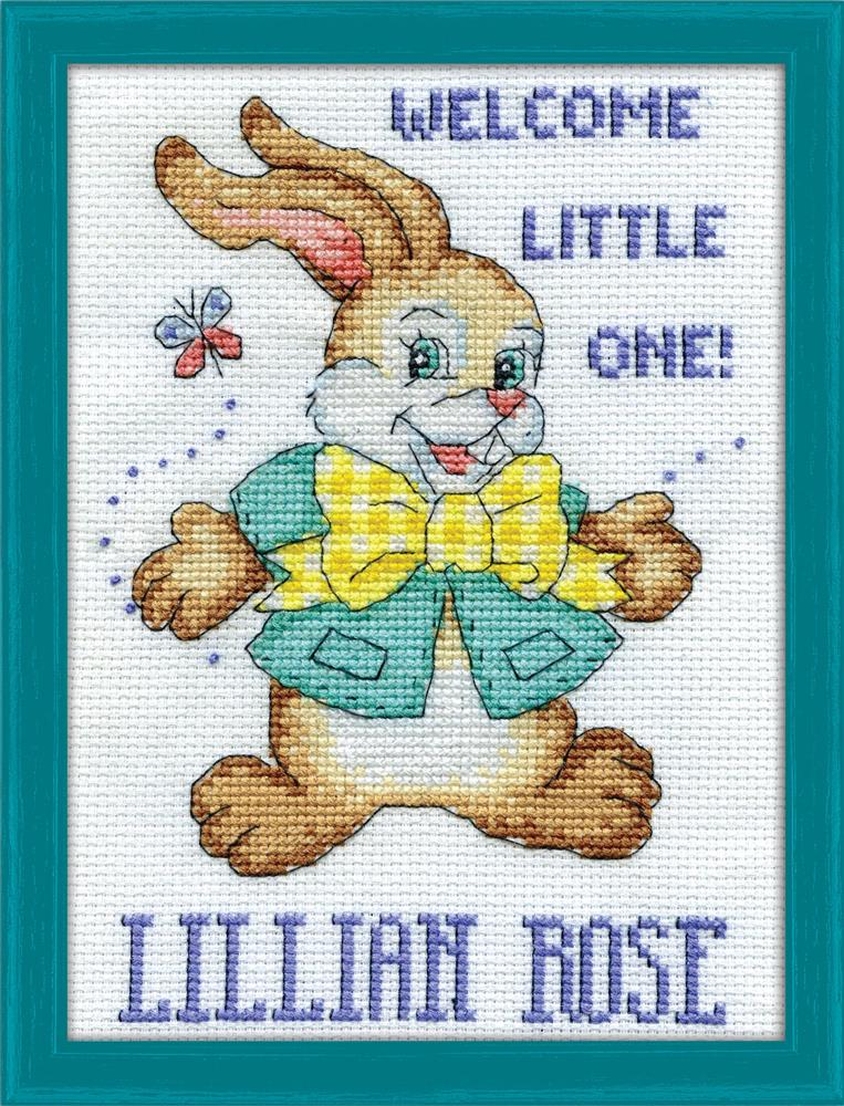 Welcome Bunny -  Cross Stitch Kit
