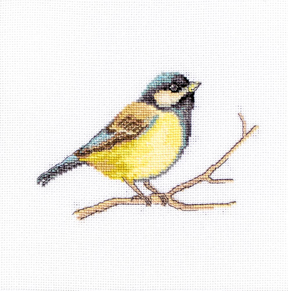 Luca-S Bluetit Cross Stitch Kit