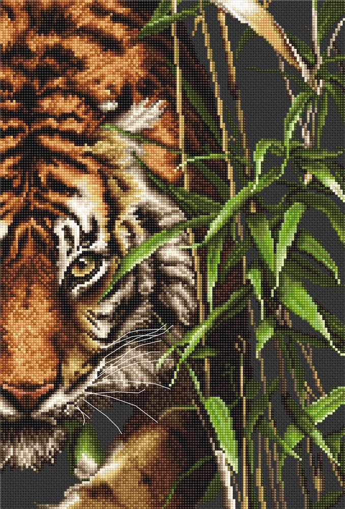 Luca-S The Tiger Cross Stitch Kit