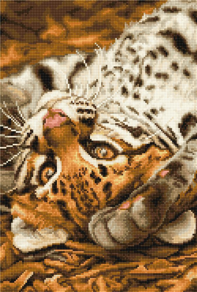 Luca-S I Want to Play Cross Stitch Kit