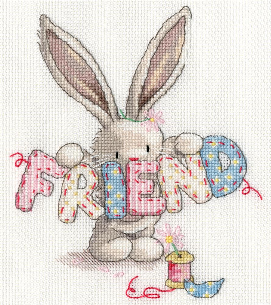 Bebunni - Gone Fishing -  Cross Stitch Kit