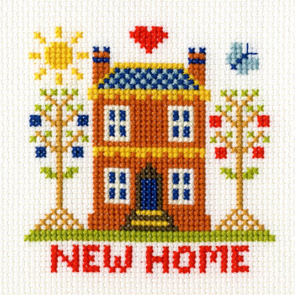 Bothy Threads New Home Card Cross Stitch Kit