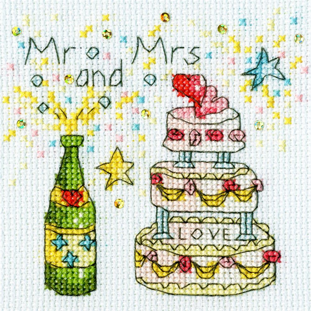Cheers Card -  Cross Stitch Kit