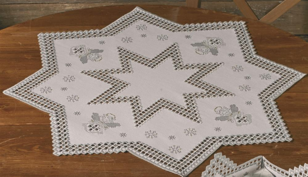 Permin Winter Angel Mat Embroidery Kit
