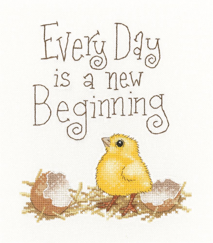 Heritage A New Beginning - Evenweave Cross Stitch Kit