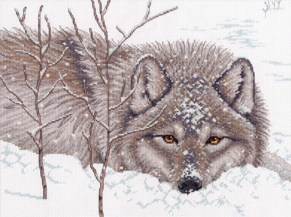 Snow Daze -  Cross Stitch Kit