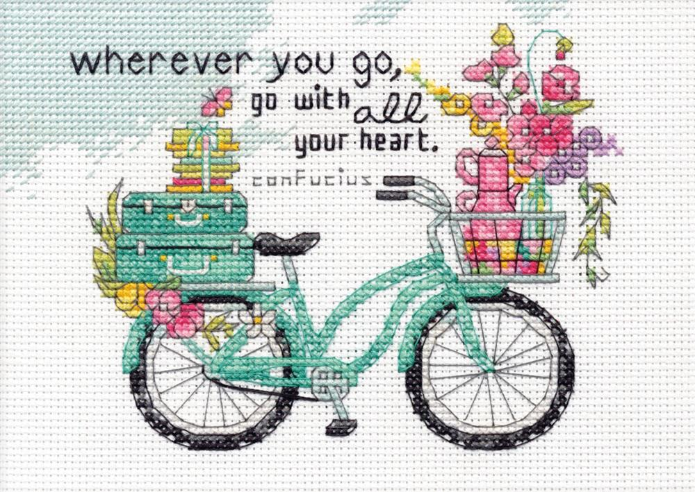 Dimensions Wherever You Go Cross Stitch Kit