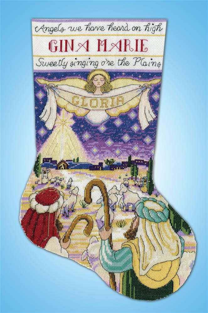 Design Works Crafts Nativity Stocking Cross Stitch Kit