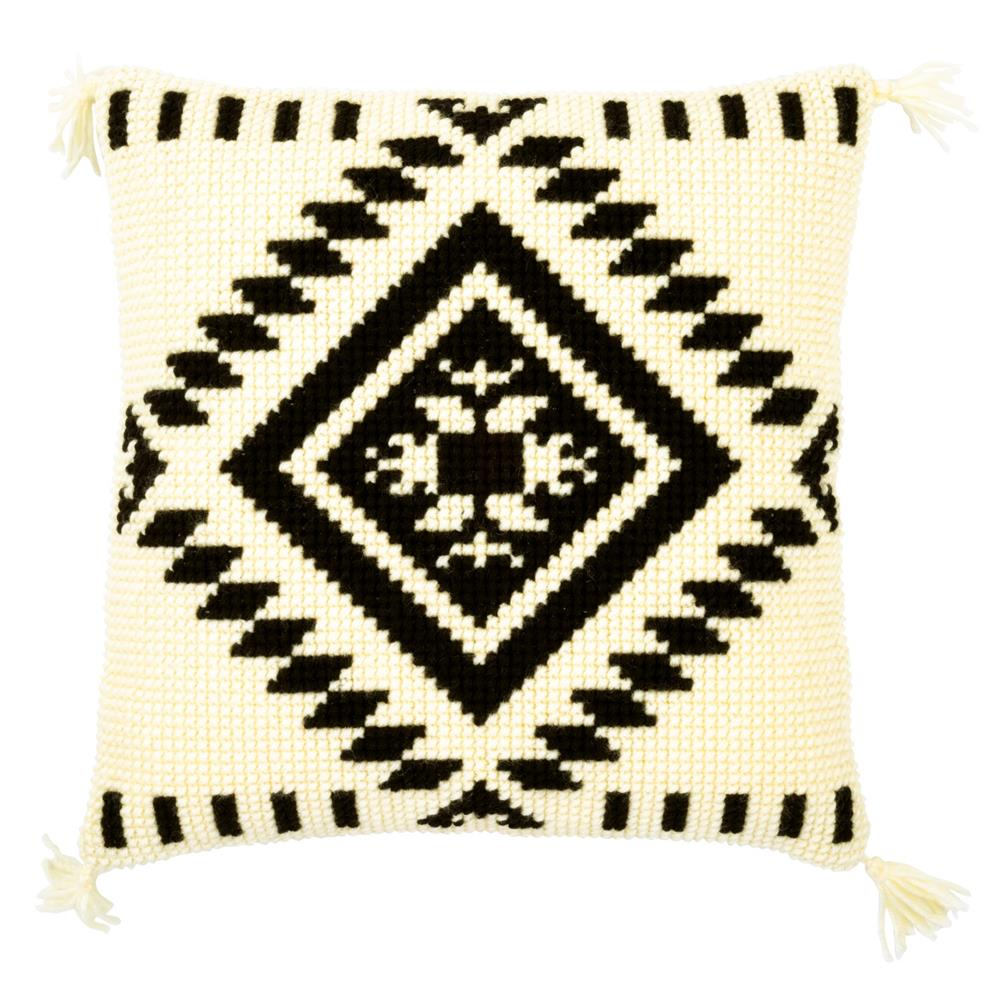 Vervaco Ethnic Diamond Cushion Cross Stitch Kit