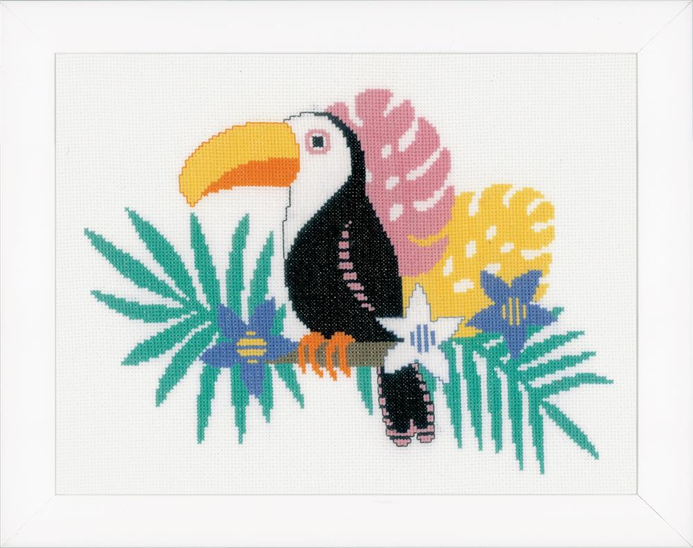 Vervaco Toucan Cross Stitch Kit