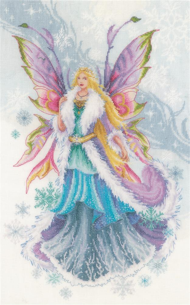 Fantasy Winter Fairy -  Christmas Cross Stitch Kit