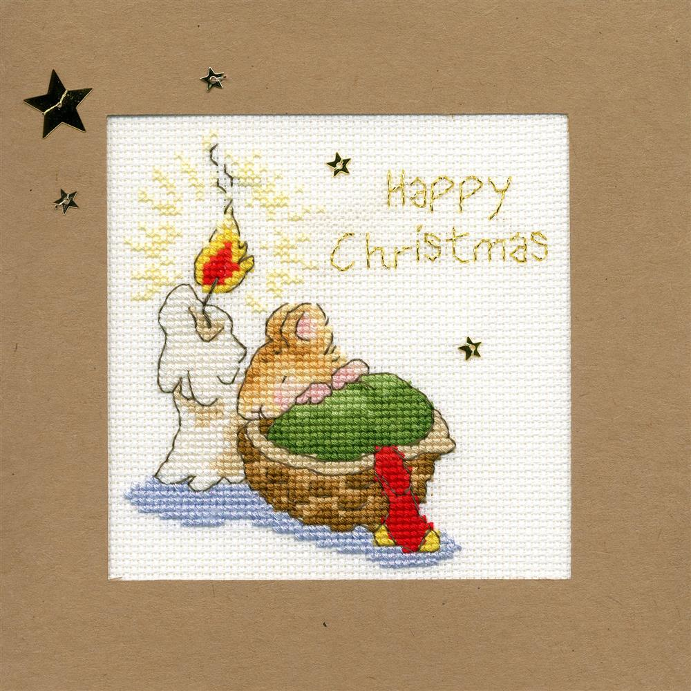 Bothy Threads First Christmas Card Making Cross Stitch Kit