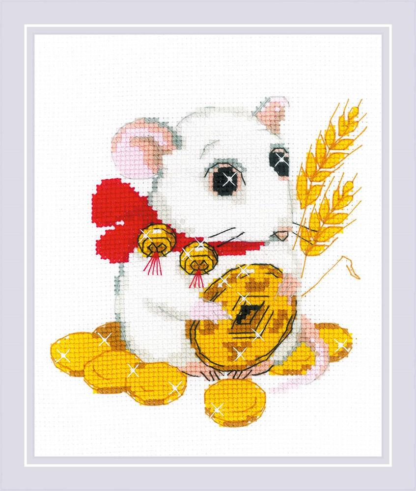 RIOLIS For Well-Being Cross Stitch Kit