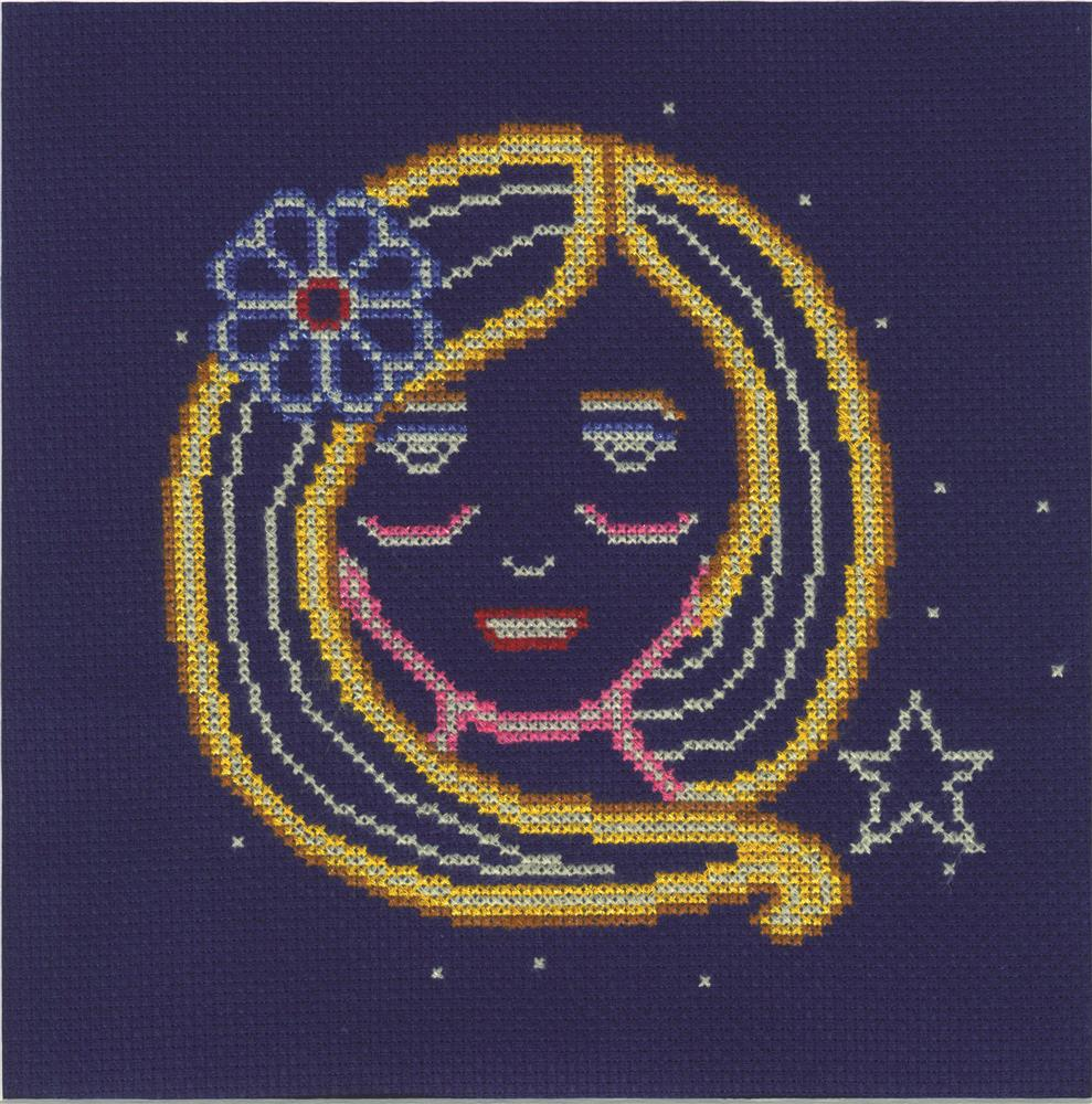 Virgo -  Cross Stitch Kit