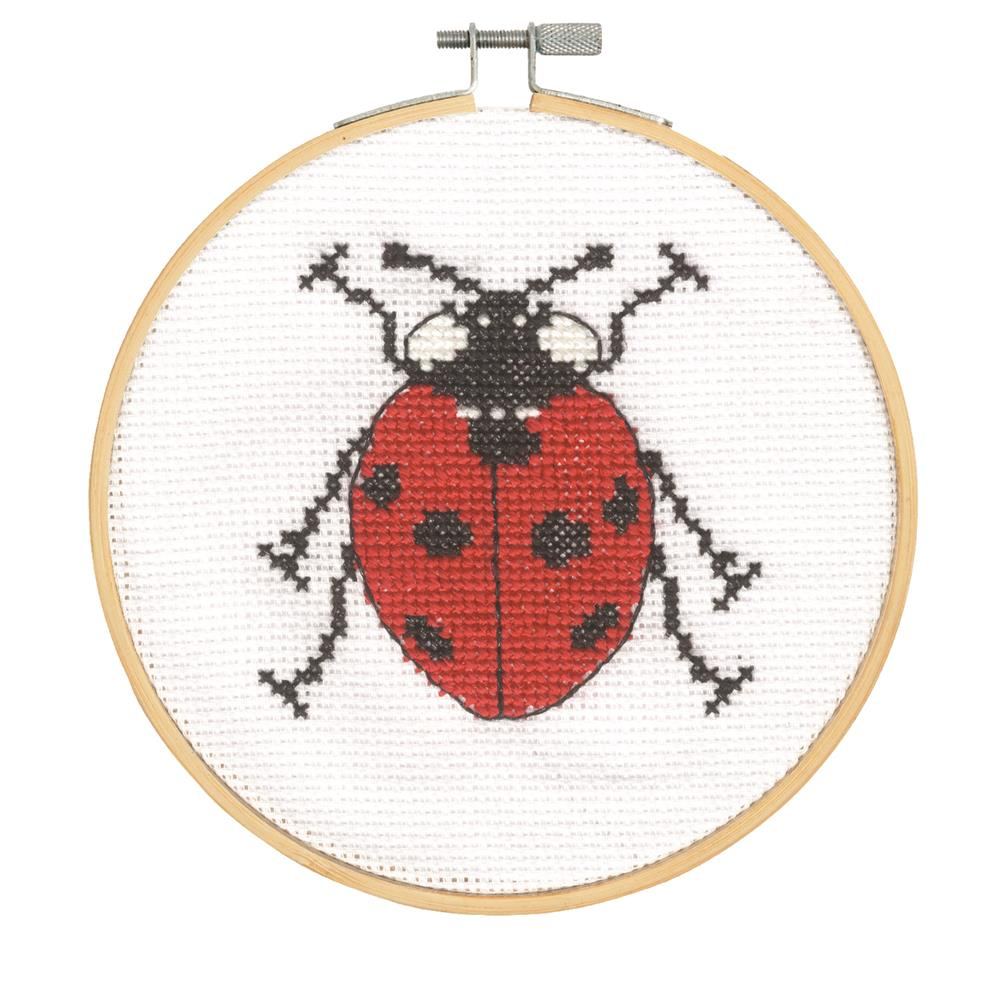 DMC Seven Spot Ladybird Cross Stitch Kit