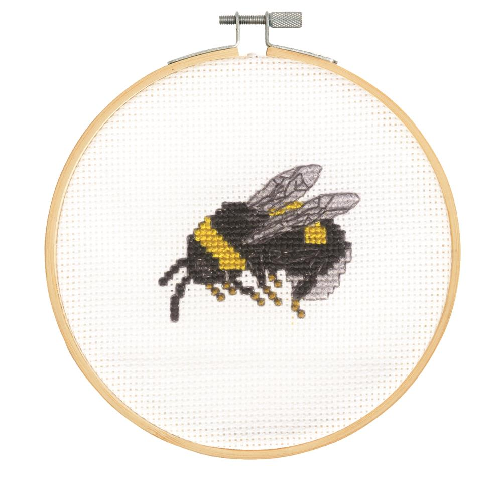 DMC Bumblebee Cross Stitch Kit