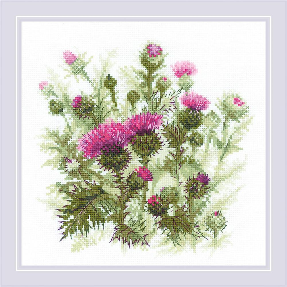 Thistle -  Cross Stitch Kit