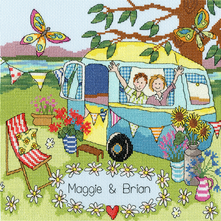 Our Caravan -  Cross Stitch Kit