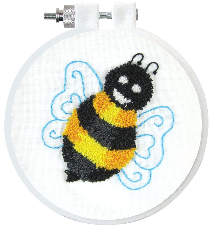 Design Works Crafts Bumble Bee Punch Needle Kit