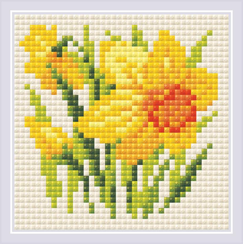 RIOLIS Yellow Narcissus Craft Kit