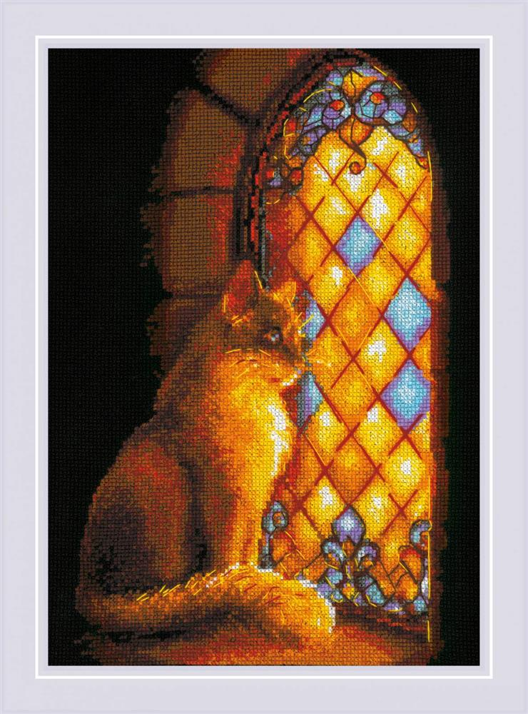 RIOLIS Castle Guardian Cross Stitch Kit