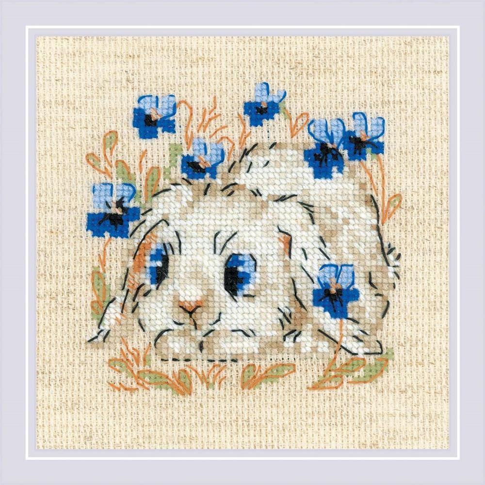 RIOLIS Little Bunny Cross Stitch Kit