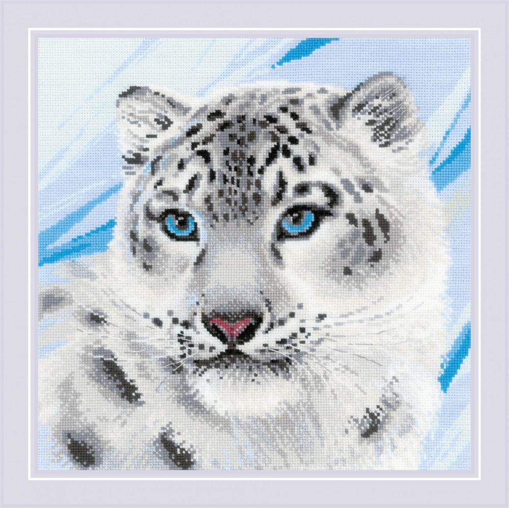 RIOLIS Snow Leopard Cross Stitch Kit